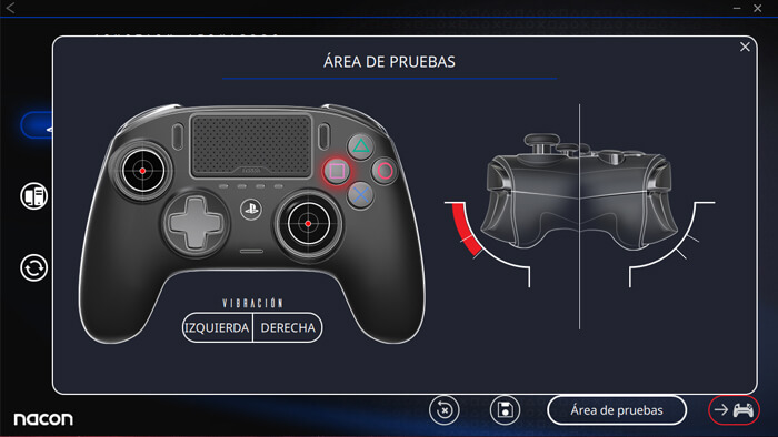 Análisis Nacon Revolution Pro Controller 3 Software