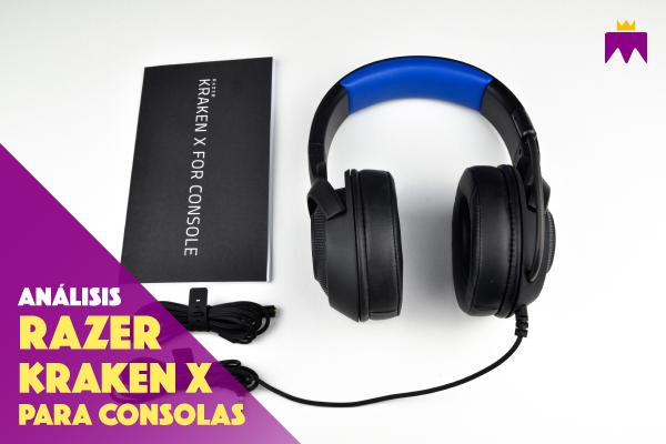 Análisis Razer Kraken X para consolas