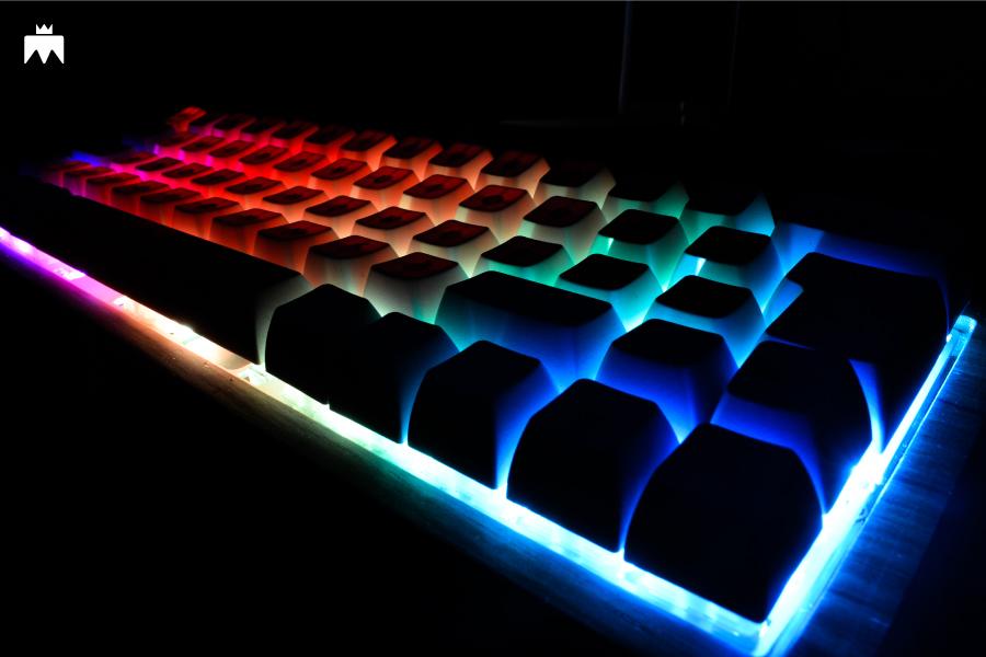 RGB Teclado mecánico custom