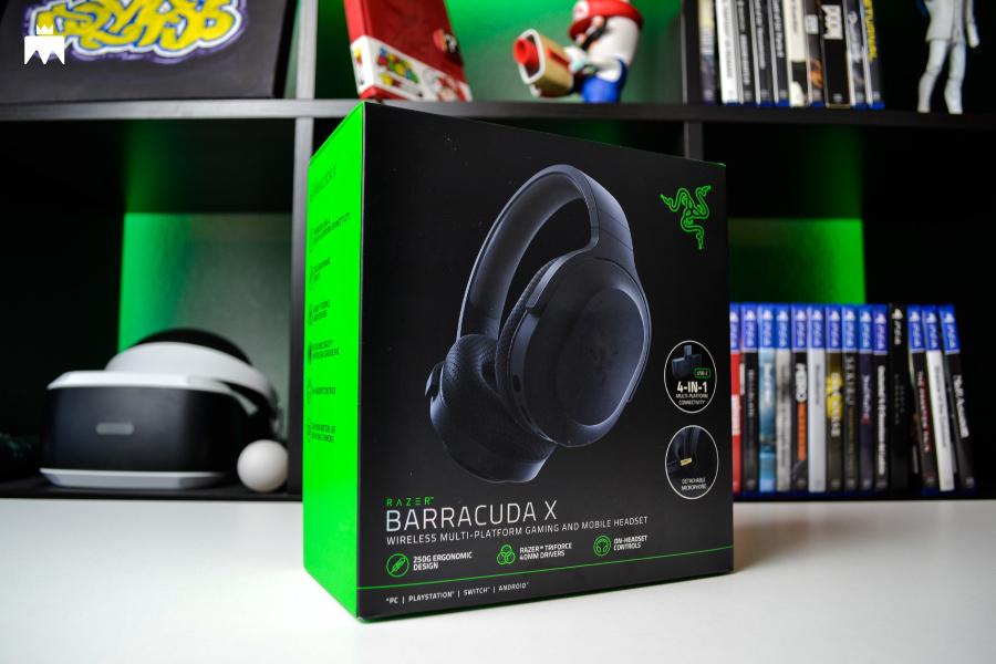Razer Barracuda X caja